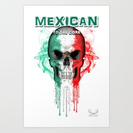 To The Core Collection: Mexico Art Print