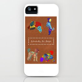 Labradoodles Are Artistic iPhone Case