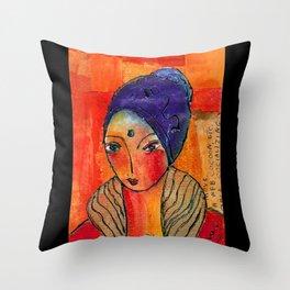 Marguerite Throw Pillow