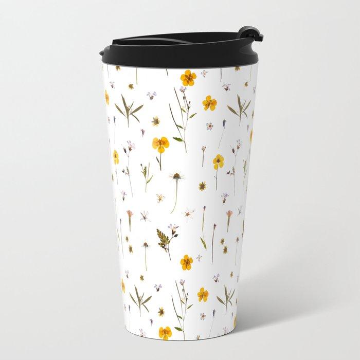 Wild flower meadow Travel Mug