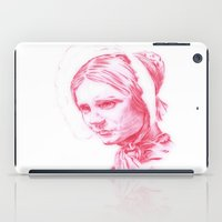 jane eyre iPad Cases featuring Jane Eyre glowing by Jonathan Snowden