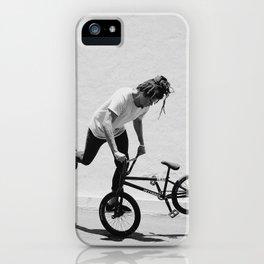 Flatland BMX Rider iPhone Case