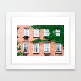 West Village Summer Framed Art Print