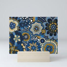 Mandala Floral Loveliness Mini Art Print
