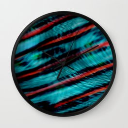 Wave Theory Wall Clock