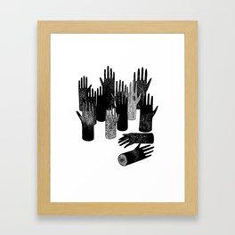 The Forest of Hands Framed Art Print