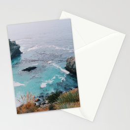 Big Sur blue Stationery Cards