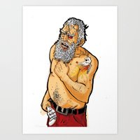 Santa is comming for you Art Print