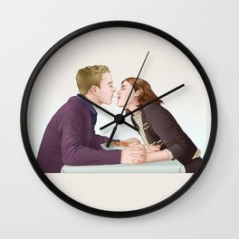 Fitzsimmons - Dinner Somewhere Nice Wall Clock