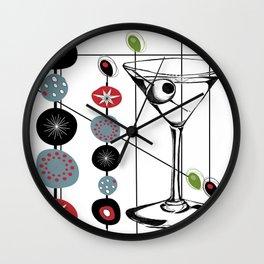 Mid-Century Modern Art Atomic Cocktail 3.0 Wall Clock