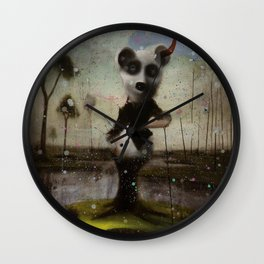 an end in flight Wall Clock