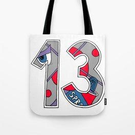 13spray Tote Bag
