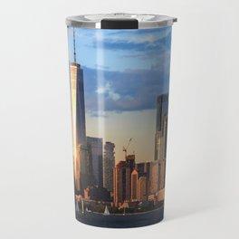 Hudson River, Manhattan Travel Mug