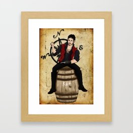 Rum? Framed Art Print