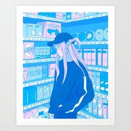 Tokyo GF /w Asuna Yuuki (SAO) Art Print