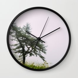A lonely tree Wall Clock