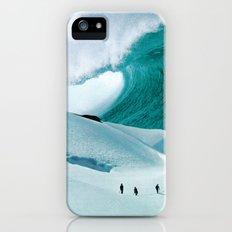 White Wall iPhone SE Slim Case