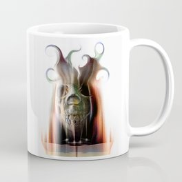 Scary Space Alien Coffee Mug