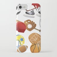 sports iPhone & iPod Cases featuring sports! by Dues Creatius