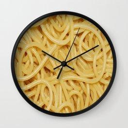 Novelty Spaghetti Pasta Noodles Wall Clock