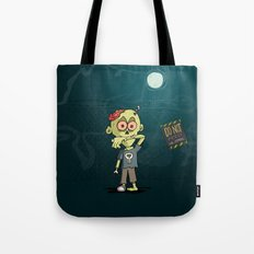 Do not feed the Zombies Tote Bag