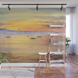 Impressions Of Provincetown Cape Cod USA Wall Mural