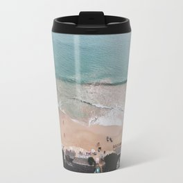 Aerial Mirissa Beach, Sri Lanka Travel Mug