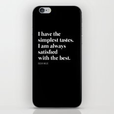 Simply the Best iPhone & iPod Skin