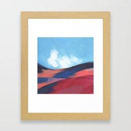 Mini Postcard for April Framed Art Print