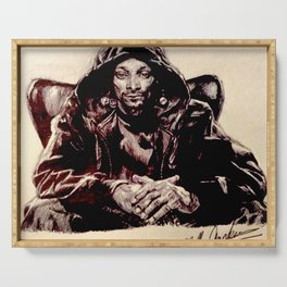 Snoop Doggy Dogg Serving Tray