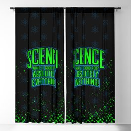 Science is Good Blackout Curtain
