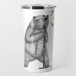 rocker bear Travel Mug