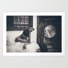 Closed - by Renee Scott Art Print