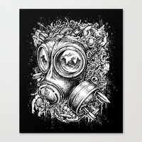 chaos Canvas Prints featuring Chaos by toto6