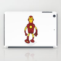 bender iPad Cases featuring Iron Bender by Andy Whittingham