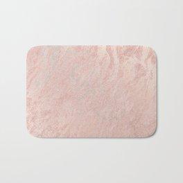 Rose Gold Foil Bath Mat