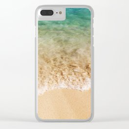 Surf & Sand Clear iPhone Case