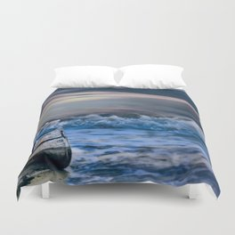 Looks Like Bad Weather Duvet Cover