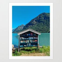 Booktown Art Print