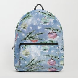 Christmas pattern. 2 Backpack