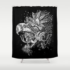 Eagle Warrior Shower Curtain