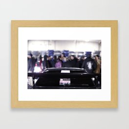 Cars and Cigars Framed Art Print