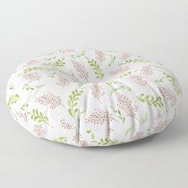 Red Berries Floor Pillow