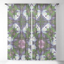 Bartram's Blossom Sheer Curtain
