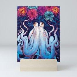 Octopus Garden Mini Art Print