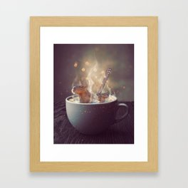 Haimish Framed Art Print