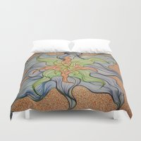 orchid Duvet Covers featuring Orchid by Vincent Murphy