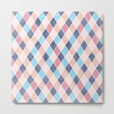Lovely geometric Pattern VI Metal Print