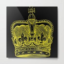 Crown Princess King Nobility Prince Metal Print