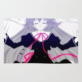 Anime Girl Angel (Ef) Rug